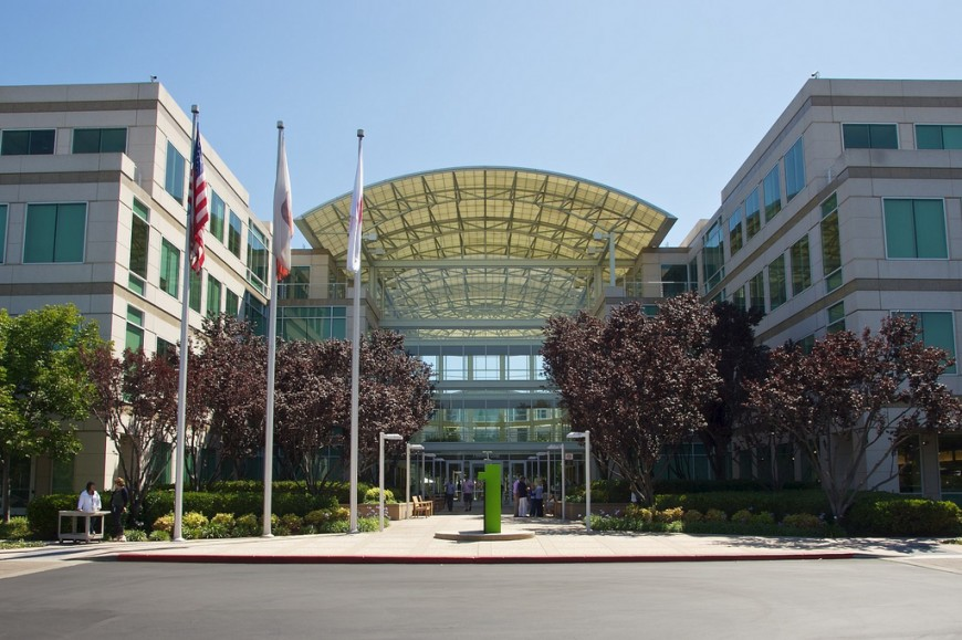 Have you been inside Apple before?