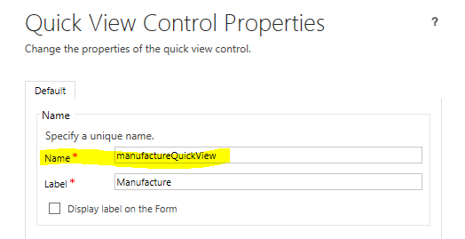 MS CRM Customization: Access Quick View Form values in JavaScript