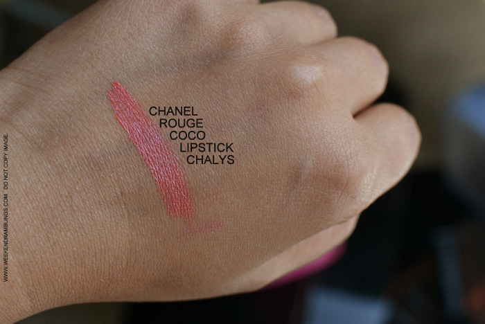 Chanel Rouge Coco Hydrating Creme Colour Best Summer Orange Coral Lipstick Chalys 07 Swatches Photos Review FOTD Indian Darker Skin Makeup Beauty Blog