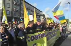 Video Manisfestación del Compañero Cristo Torres