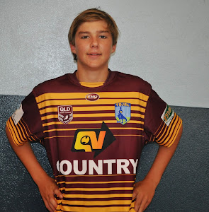 Jack McQueen- U14's Country Rugby League Team