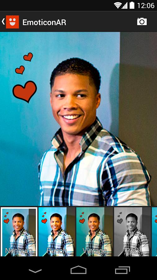 EmoticonAR for Messenger, descubra seu humor e divirta-se com os amigos!