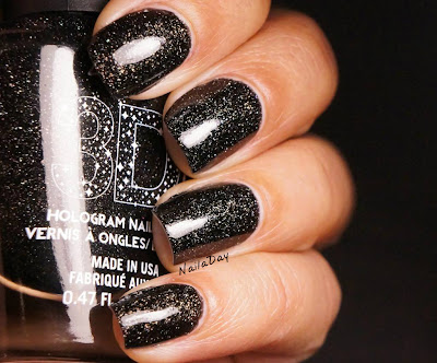NailaDay: L.A. Girls 3D Effects Black Illusion