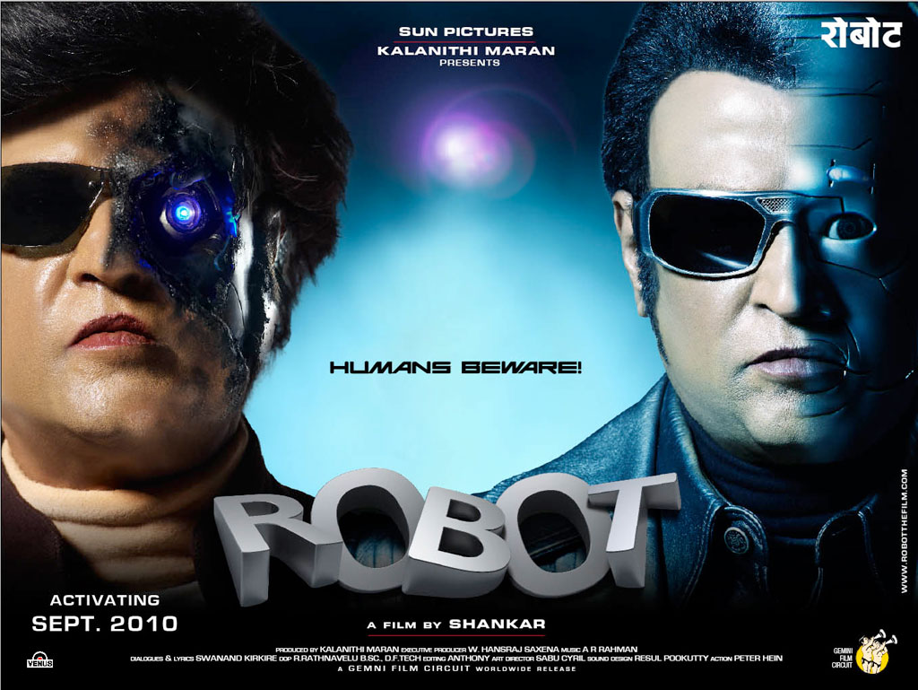 My Learning About The Robot Movie