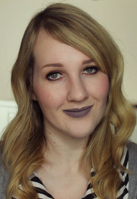 Darling Girl Pucker Paint Matte Lip Cream - Teddy Bare lipstick swatches & review