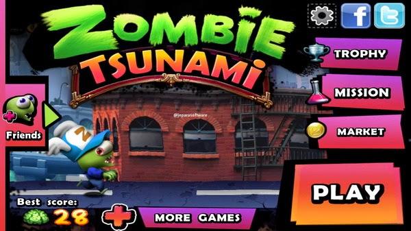 Zombie Tsunami game1