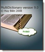 Multidictionary 9.0 - Từ điển Anh-Việt, Việt-Anh miễn phí