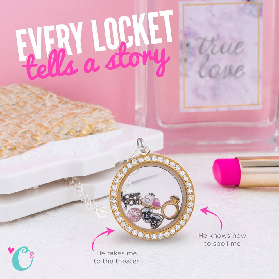 An Origami Owl Living Locket About Him - Come create yours at StoriedCharms.com