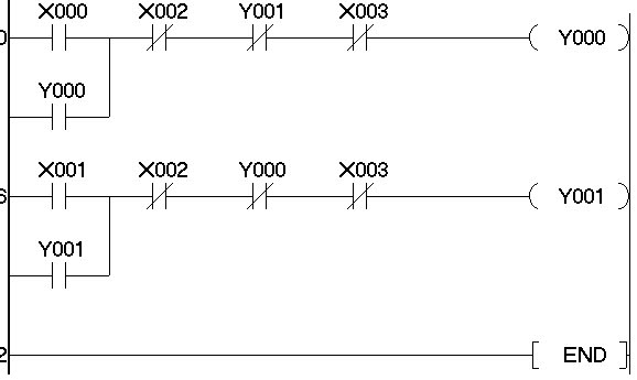 Forward reverse motor plc ladder diagram auto electrical wiring kursus plc pelatihan plc hmi scada jakarta depok bekasi tangerang rh plccourses blogspot com motor control ladder diagrams forward reverse circuit da igram cheapraybanclubmaster Images