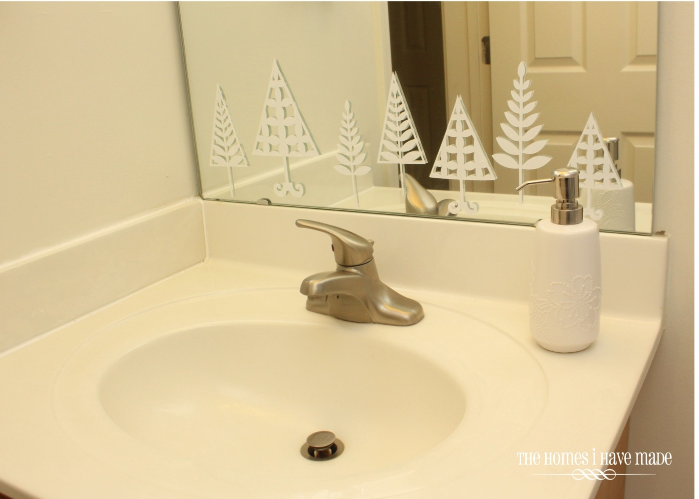 Bathroom Decor Stores Holiday Home Tour North Pole Themed Bathroom The Homes I Have Made