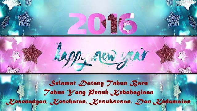 ucapan selamat tahun baru 2016
