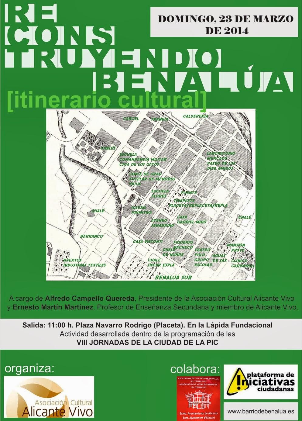 RECONSTRUYENDO BENALÚA (Itinerario cultural)