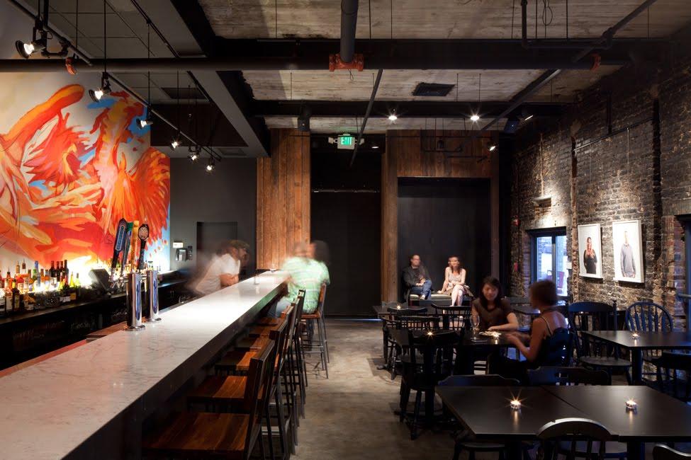 Best Restaurant Interior Design Ideas Creative Alliance Cafe Baltimore Usa