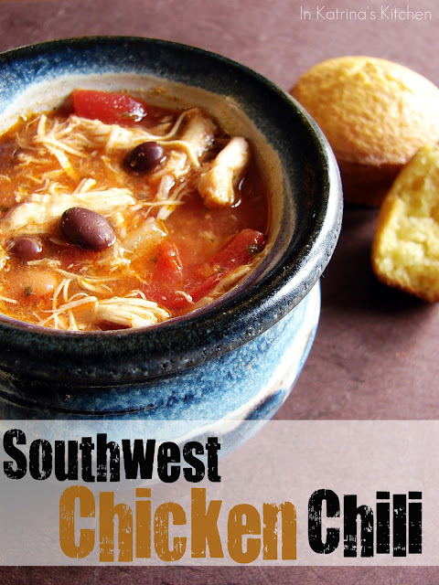 Southwest Chicken Chili from @KatrinasKitchen