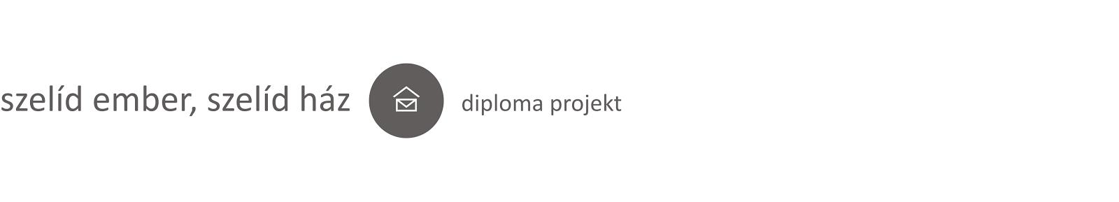 Szelíd ember, szelíd ház - diploma projekt