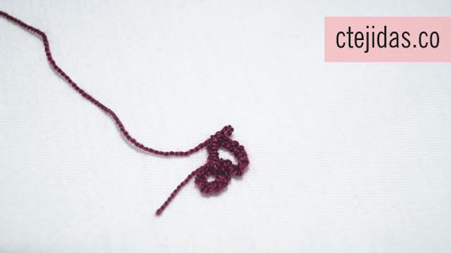 Florecita a Crochet - Tutorial Paso a Paso