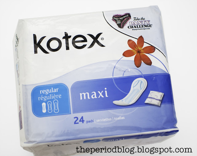 kotex maxi wingless pad