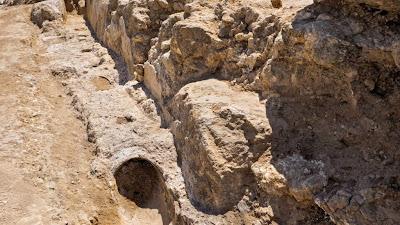 Un acueducto de 2.000 años ha sido expuesto en el este de Jerusalem