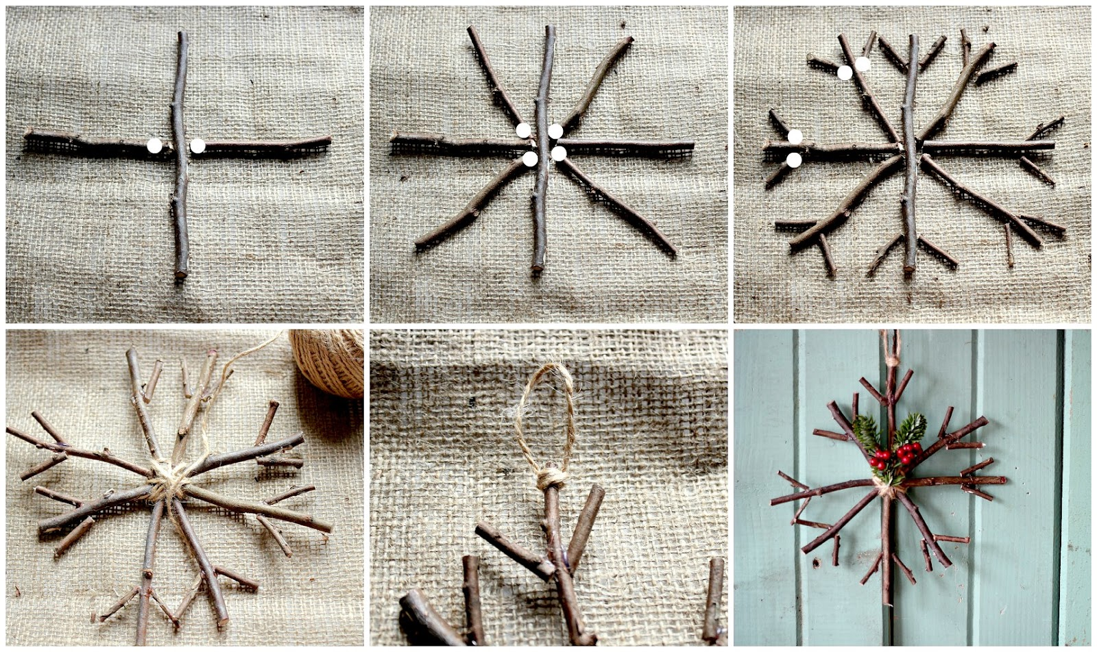 Christmas Crafts Made With Twigs