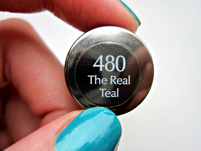 sally hansen xtreme wear the real teal swatch manicure nails