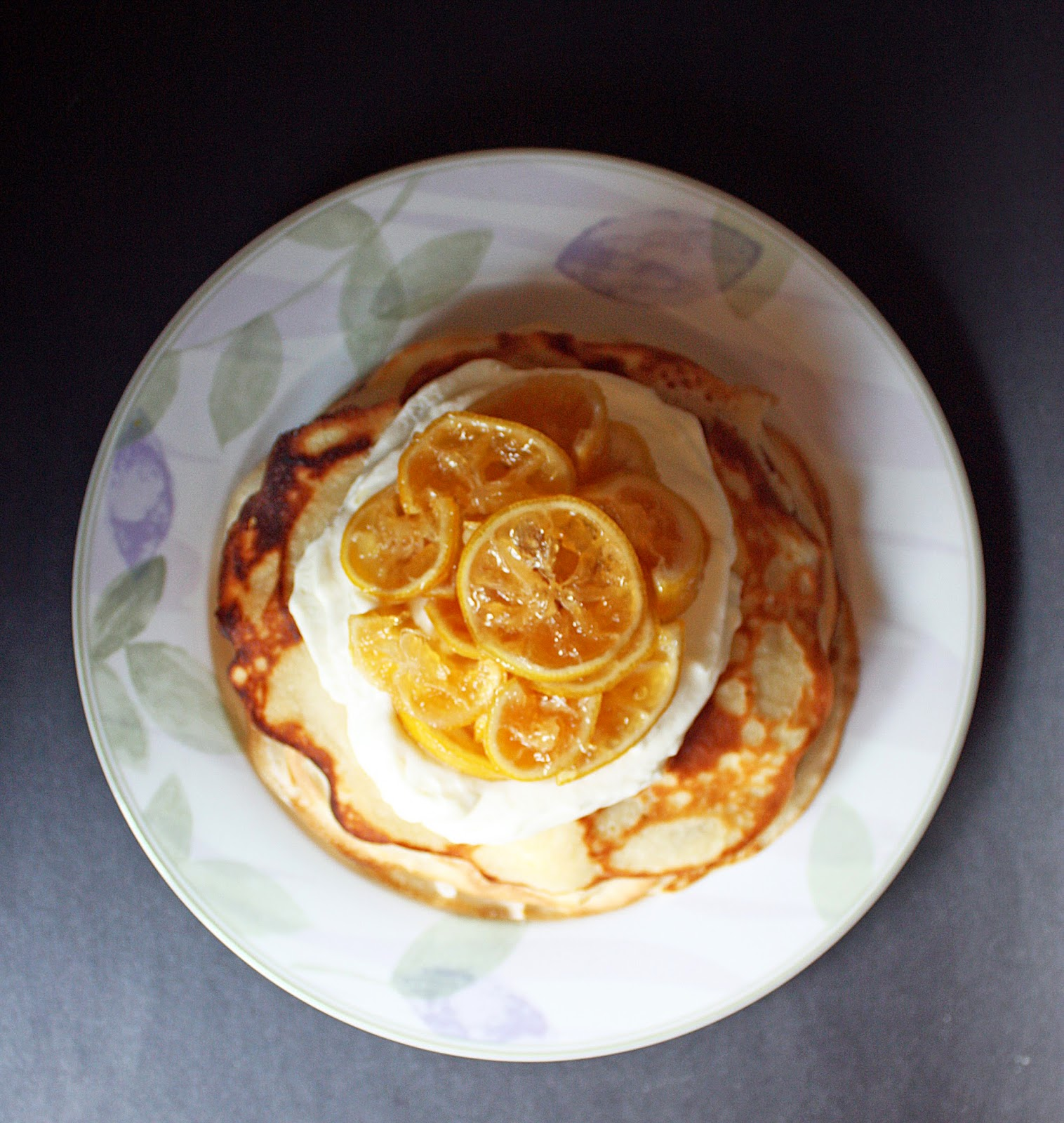 vegan meyer lemon crepe cake