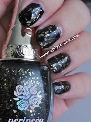 Peripera nail polish BK504