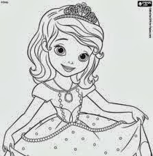 7 Princess Sofia Coloring Pages Sophia And The First