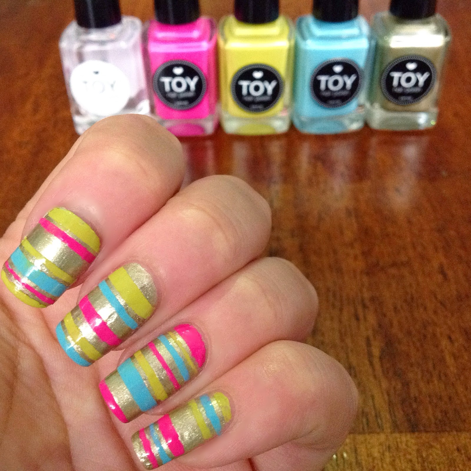 Don's Nail OBSESSION!: TOY NAIL POLISH