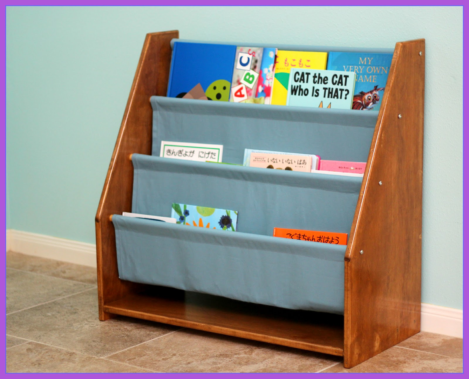 Sling Bookshelf For Little Momo