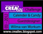 Gastdesigner voor de maand maart 2012