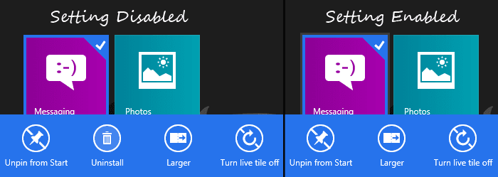 Uninstall Modern UI Apps