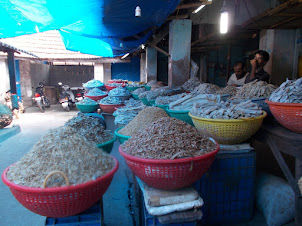 Dry Fish in Ernakulam market.