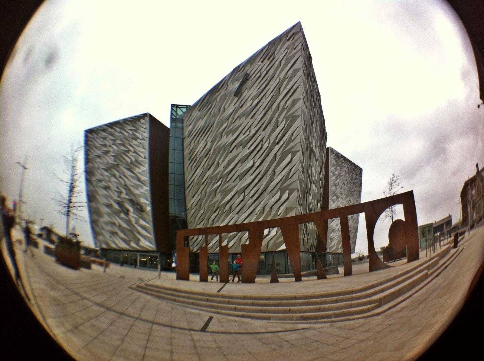 museu do titanic, belfast, irlanda do norte