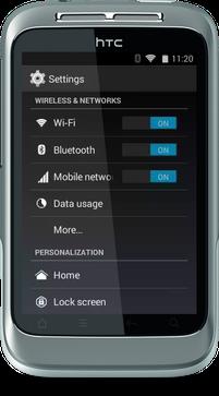 CyanogenMod 11.0 Wildfire S