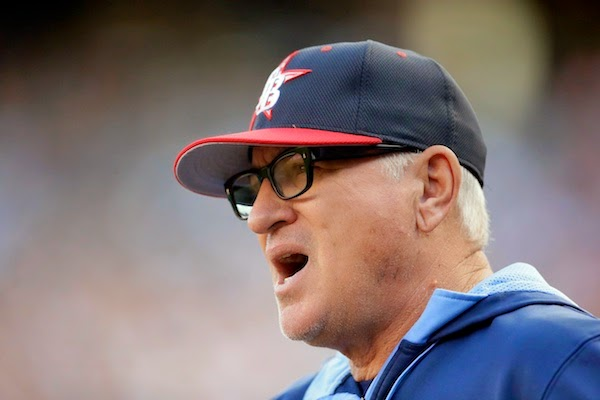 Tampa's Joe Maddon ejected as potential beanball battle begins with Tigers