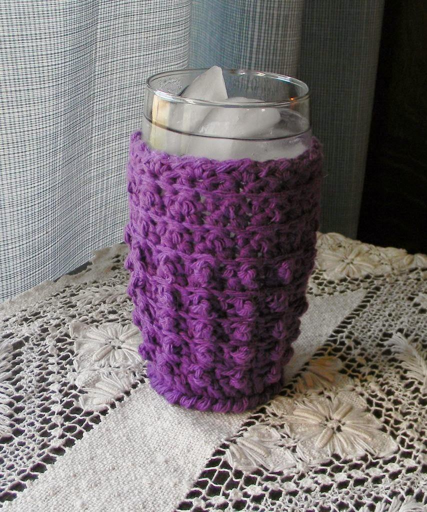 Iced Drinking Glass Coaster - Cozy