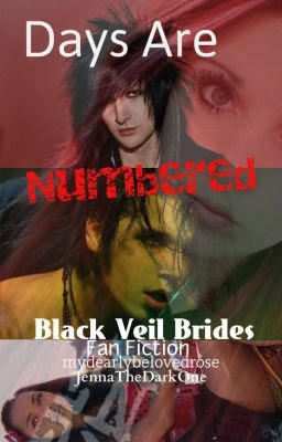 black veil brides days are numbered cover