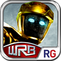 Real Steel World Robot Boxing App iTunes App Icon Logo By Reliance Big Entertainment UK Private Ltd - FreeApps.ws