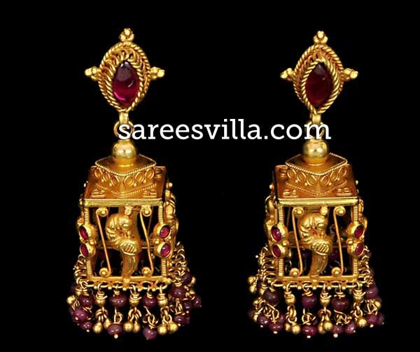 Latest jhumkas Designs