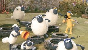 "Cara Mengajar TK dan PAUD Tema Hewan - Kreasi Membuat ""Shaun The Sheep"