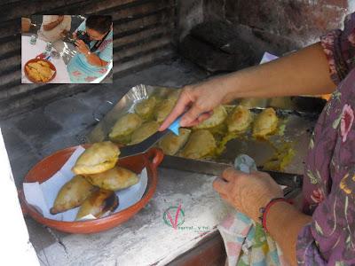 Empanadillas argentinas de soja texturizada.