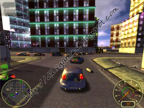 Free Download Games - City Racing
