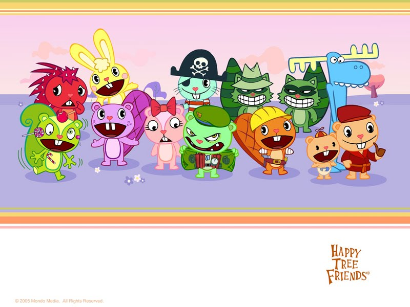 Happy Tree Friends Flash Cartoon
