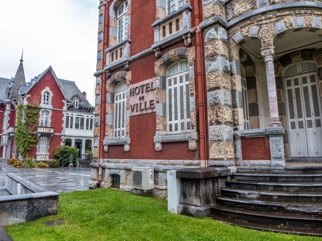 Lourdes France city hall