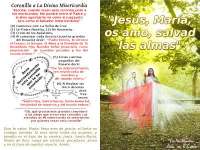 imagen de jesus divina misericordia con jaculatoria jesus maria os amo salvada almas