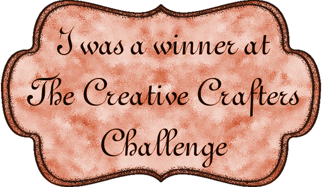 I won at The Creative Crafters!