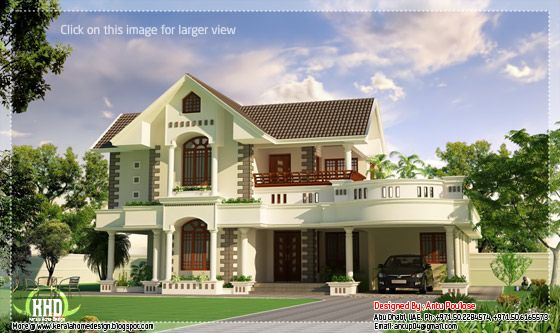 Superb Kerala model house