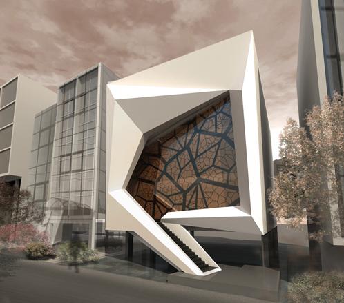 Ganthimathinathan revit rendering for Revit architecture modern house design 8