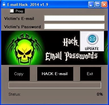 E mail hacken