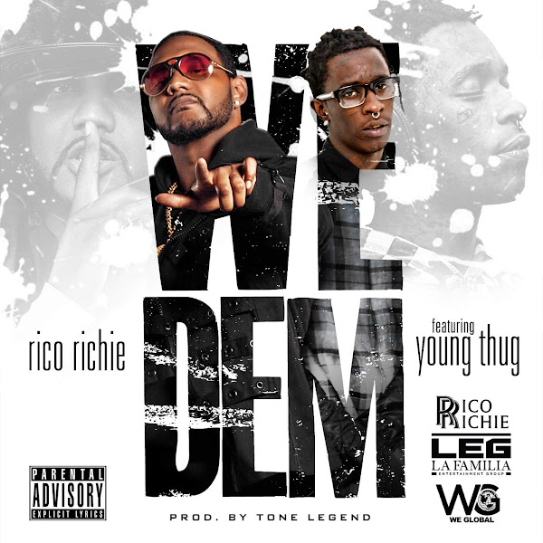 Rico Richie - We Dem (feat. Young Thug) - Single Cover